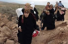 RefugeeWomenWalking