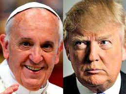 PopeFrancisDonaldTrump
